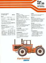 Fiat 44-35 4WD brochure