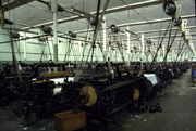 Weaving shed, Queen Street Mill - geograph.org.uk - 680867