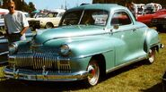 De Soto De Luxe Business Coupe 1948