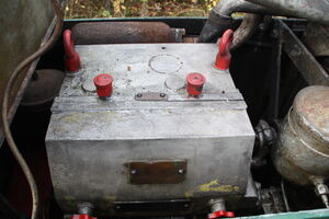 Aveling-Barford GB roller engine cover - IMG 5007