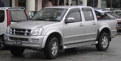 Isuzu D-Max (first generation) (front), Serdang