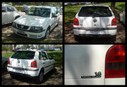 Brazilian 2003 VW Gol 1.6 Total Flex