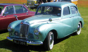 Sunbeam Talbot photographed June 2008
