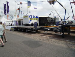 King trailers extendable semi plant