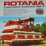 Rotania N 8 S or C combine brochure