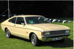 Ford Granada Coupe before rear three quarters reworked