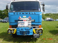 Scammell S26 - Evening Star - F300 PHN at Belvoir 08 - DSC01194