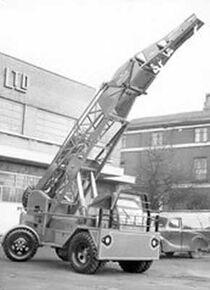 1949 Taylor Jumbo Mobilecrane