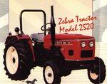 Zebra 2520