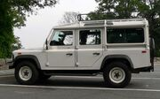 Defender 110 Number 233 in Washington DC