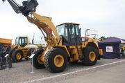 Caterpillar 950H wheeled loader at SED 09 - IMG 8268