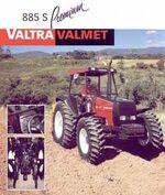 Valtra Valmet 885S Premium MFWD (red) - 2001