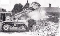 A 1950s BRAY BL25 Bulldozer Diesel