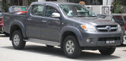 Toyota Hilux (eighth generation) (front), Serdang