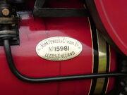 Fowler No. 15981 plate P8170416