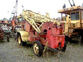 1947 Taylor Jumbo Fordson Major tractor based