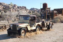 Desert Queen Ranch - Willy's Jeep