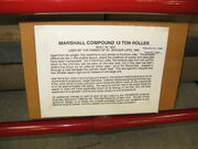 Marshall no. 78539 - RR - Info board - Pallot Museum-IMG 2375
