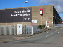 BMW MINI pressings plant Swindon