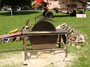 Twose Circular saw bench at Newby Hall 08 - P6080102