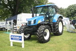 New Holland T6080 on Russell Farm machinery stand at Newby 09 - IMG 2400
