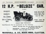 19030131Auto- 12hp Belsize car (gracesguide)