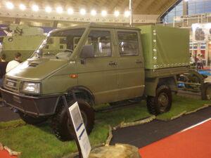 Zastava military truck