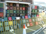 Petrol can collection (b) - Chatham - DSCF0127