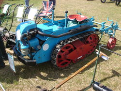 Ransomes MG tractor + implement-Astwwood- DSC01276
