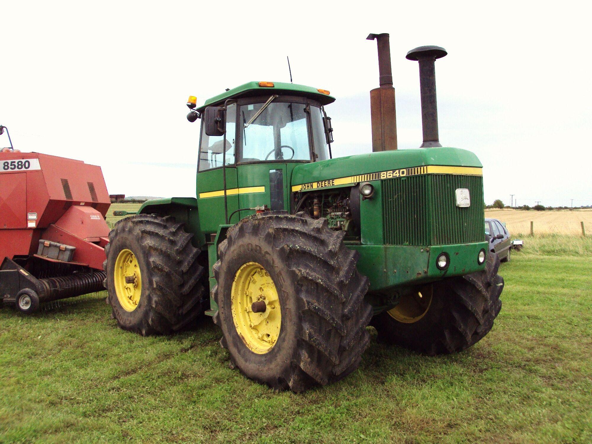 john deere 8640 | tractor & construction plant wiki