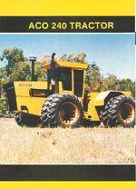 ACO 240 4WD brochure