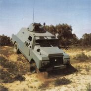 1978 BRAVIA Comando 4X4 V8 Armoured Car