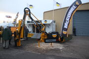 McConnel stand and hedge cutter at Lamma - IMG 4734