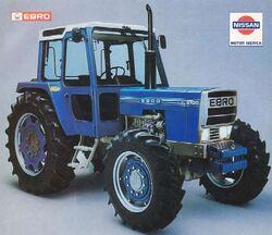 Ebro 6100 MFWD ad - 1985