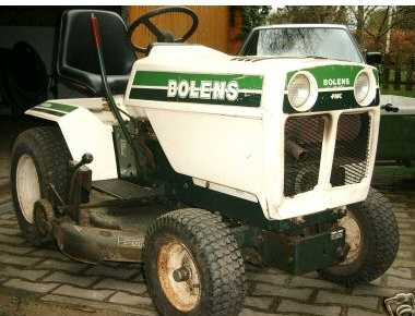 Bolens G12xl Tractor Amp Construction Plant Wiki Fandom