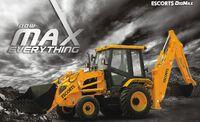 Escorts DigMax backhoe-2010