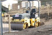 Bomag twin drum roller - IMG 8414