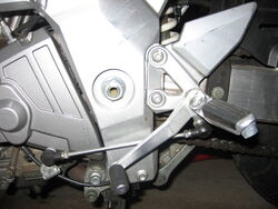 2003 SV650S Gearshift