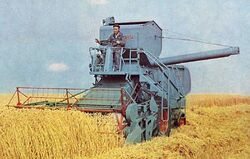 Bolinder-Munktell S 1000 combine