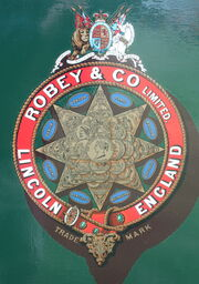 Robey badge IMG 6128