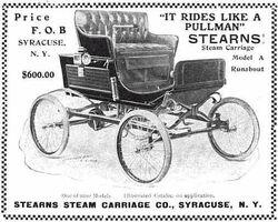 Stearns-auto 1903 steam