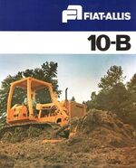 Fiat-Allis 10B crawler brochure