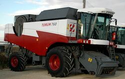 RostSelMash Torum 760 combine - 2011