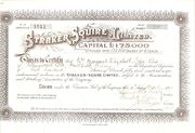 Straker-Squire Share Certificate