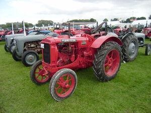 McCormick-Deering W12 at Driffield-P8100549