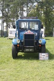 Albion reg DMV 317 2 ton flat model AM 463 of 1936 at Barnard Castle 09 - IMG 0748