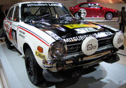 Mitsubishi Lancer 1600 GSR (Safari Rally 1976)