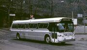 Suburban-type GM New Look bus - Pittsburgh, 1984