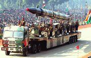 Agni-II missile (Republic Day Parade 2004)
