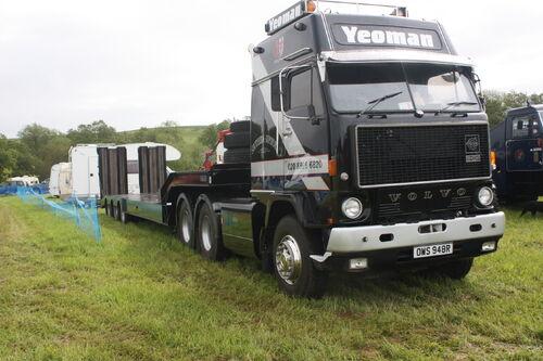 Yeoman Volvo F88 reg OWS 948R at Belvoir 09 - IMG 8374